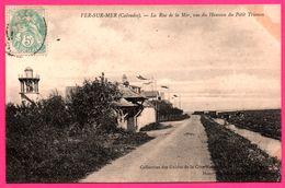 Ver Sur Mer - La Rue De La Mer - Vue Du Hameau Du Petit Trianon - Phare - O.L. - Cliché MATUSSIERE - HENRI MONCEAU - Autres Communes
