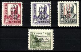 Guinea Española Nº 256/9 En Nuevo - Guinée Espagnole