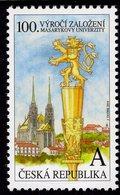 Czech Republic - 2019 - Centenary Of Masaryk University In Brno - Mint Stamp - Tchéquie