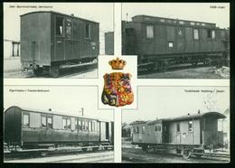 AKx Bahn   Postwaggons Aus Verschiedenen Regionen Dänemarks - Poste & Postini