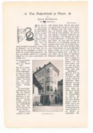 245 Hoffmann Das Batzenhäusl Zu Bozen Artikel Mit Bildern Von 1897 !! - Historische Dokumente