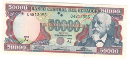 Ecuador 50000 Sucres 1999 UNC - Ecuador