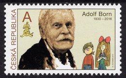 Czech Republic - 2019 - Tradition Of Czech Stamp Design - Adolf Born - Mint Stamp - Tchéquie