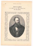 249 Eduard Von Gebhardt Maler Reformation Artikel Mit 4 Bildern Von 1883 !! - Historische Dokumente
