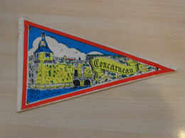 Fanion Touristique France CONCARNEAU - FINISTERE (vintage Années 60) - (Vaantje - Wimpel - Pennant - Banderin) - Obj. 'Souvenir De'