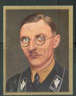 WW II Zigaretten Sammelbild 6,2 X 4,8 Cm , Wer Führt Das 3. Reich ? , Nr. 65: Karl Fiehler , SS Gruppenführer , Oberbü - Albums & Catalogues