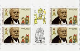 Czech Republic - 2019 - Tradition Of Czech Stamp Design - Adolf Born - Mint Booklet Stamp Pane - Tchéquie