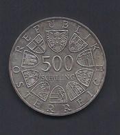 1988 500 SCHILLING BENEDIKTINER ABTEI ST GEORGENBERG AUTRICHE AUSTRIA ÖSTERREICH ARGENT SILVER SILBER - Autriche