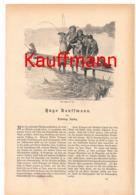 251 Hugo Kauffmann Artikel Mit 10 Bildern Von 1887 !! - Historische Dokumente