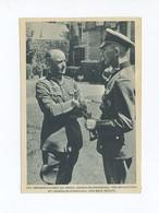 1941 3. Reich Propagandakarte  Generalfeldmarschall Von Brauchitsch Zusammen Mit GFM Von Bock Verlag DIE WEHRMACHT - Deutschland