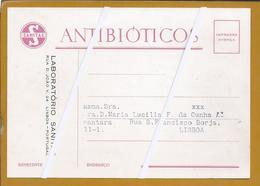 Antibiotics. Penicillin. Rare Postal Postage Paid Laboratorios Sanitas. Stationery Peaked. Antibiotika Penicillin. 2 - Medicine