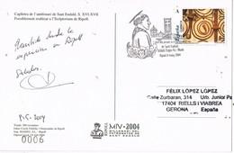 31251. Postal RIPOLL (Gerona) 2004, Milenario San Eudaldo, Sant Eudald - 1931-Hoy: 2ª República - ... Juan Carlos I
