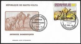 1972 - HAUTE-VOLTA - FDC - Y&T 283 [Camelus Dromedarius] + OUAGADOUGOU - Haute-Volta (1958-1984)