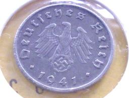 ALLEMAGNE  10   RAICHSPFENNIG  1941 A - [ 4] 1933-1945 : Tercer Reich