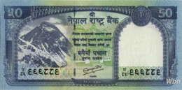 Nepal 50 Rupee (P72) 2012 -UNC- - Nepal