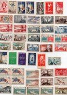 Lot De 44 Timbres Neufs (anciens Francs) - Autres