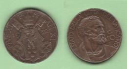 Vaticano 10 Centesimi 1932 Papa Pio XI - Vaticano