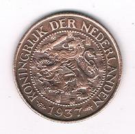 1 CENT 1937 NEDERLAND /0563// - [ 3] 1815-… : Kingdom Of The Netherlands