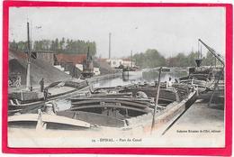 88 EPINAL - Le Pont Du Canal - Péniches - Epinal