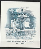 RWANDA - BLOC N° 19 ** (1969) Premier Homme Sur La Lune - Rwanda