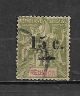 Timbre De Réunion  De 1901 N°55  Oblitéré - Réunion (1852-1975)