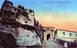 TANGER-  244-  Puerta De La Alcazaba Y Batería. - Tanger