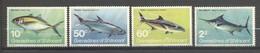 Saint-Vincent & Grenadines, Yvert 216/219, Scott 218/221, MNH - St.-Vincent En De Grenadines