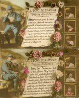 Lot De 2 CPA - L'ECHO DE L'AMOUR - Petites Annonces - Guerre 1914-18