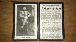 Sterbebild Wk1 Ww1 Bidprentje Avis Décès Deathcard KUK Feldartillerie 50 20. Oktober 1918 Aus Pfosendorf Neuhofen - 1914-18