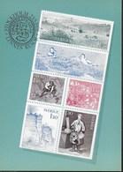 SVERIGE - I VIAGGI DI LINNEO - DA LIBRETTO - NUOVA - Stamps (pictures)