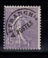 YV 46 Semeuse N* Cote 6 Euros - Préoblitérés