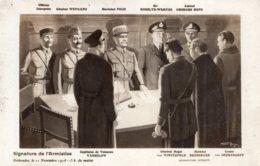 B55627 Militaire - Guerre 1914 -  Signature De L'Armistice - Militaria