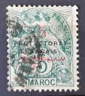 MAROC - N°40 - Oblitéré (o) - Maroc (1891-1956)
