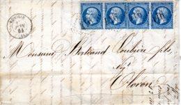 Lettre De Behobie (64)   GC  416 Très Belle Bande 4 - Marcophilie (Lettres)