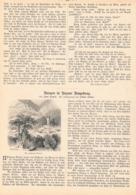 267 Püttner Burgen Bozen Umgebung Artikel Mit 10 Bildern 1885 !! - Italia