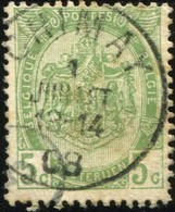 "COB   83  (o) Oblitération ""Chimay"" T1L - 1893-1907 Armoiries"