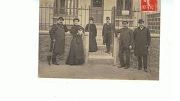 94.. CARTE PHOTO  VALENTON 1908-   VILLA    MARIE LOUISE - ROUTE DU LAVOIR     TBE - Valenton