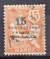 MAROC - N°42 - Oblitéré (o) - Maroc (1891-1956)