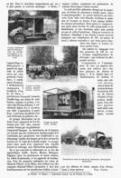 NOUVEAUX GROUPES De CHIRURGIE AUTOMOBILES   1916 - 1914-18