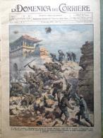 La Domenica Del Corriere 15 Gennaio 1933 Grande Muraglia Cercatori D'Oro Radio - Libri, Riviste, Fumetti