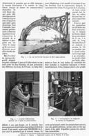 L'APPLICATION Du TELEPHONE à La CONSTRUCTION Des GRANDS PONTS MODERNES  1916 - Autres