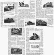 L'EVOLUTION Des VOITURES BLINDES  1916 - Transports