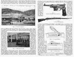 "LES USINES D'ARMES "" MAUSER "" à D'OBERNDORF    1916 - Army & War"