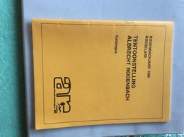 Albtecht Rodenbach Tentoonstelling Rodenbachjaar 1980 Roeselare (ds10) Catalogus - Historia