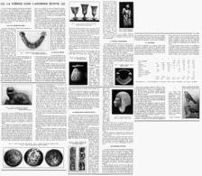 LA FAÏENCE Dans L'ANCIENNE EGYPTE  1939 - Archéologie