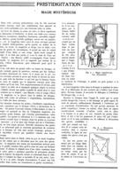 "PRESTIDIGITATION "" LA MAGIE MYSTERIEUSE  "" Par Le PRESTIDIGITATEUR "" ALBER "" 1939 - Other"