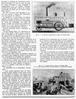 LES VOITURES à VAPEUR De CHARLES DIETZ  1939 - Transports