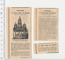Presse 1955 Pélerinage Le Reliquaire Du Saint-Sang De Bruges 51CEM-C5 - Vieux Papiers