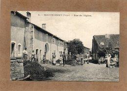 CPA - MACONCOURT (88) - Aspect De La Rue De L'Eglise En 1916 - Autres Communes