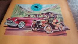 Prentenalbum Superchocolade Jacques - Historisch Overzicht Van De Auto  ( Jaren '50) -  Compleet - Obj. 'Souvenir De'